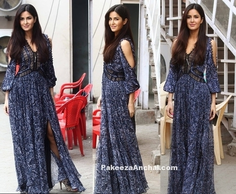 Katrina Kaif in Blue Rebecca Taylor Boho outfit | Indian Fashion Updates | Scoop.it