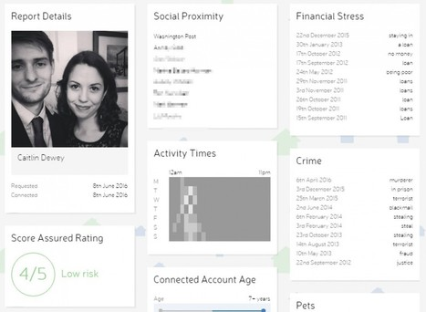 Creepy startup will help landlords, employers and online dates strip-mine intimate data from your Facebook page | Digital Footprint | Scoop.it