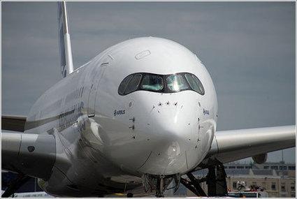 El primer Airbus A350 en manos del equipo de pruebas de vuelo ...   Aviación Española   Scoop.it