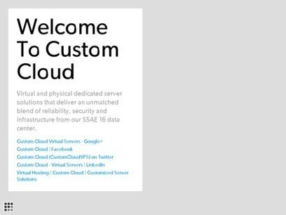 Hosting Custom Cloud Server | Virtual Hosting | Custom Cloud | Customized Server Solutions | Scoop.it