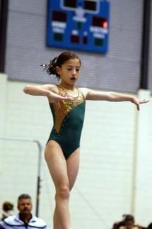 Cimarrones clasifican a eventos nacionales de gimnasia artística
