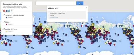 Tabula Geographica Latina | Latin.resources.useful | Scoop.it