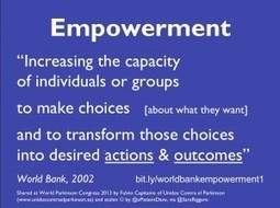 It's time to adopt a good working definition of empowerment.   Informatics in Participatory Health   Scoop.it