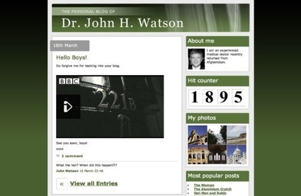 Simple, Elegant Genius: The BBC's Transmedia Sherlock - Part 1 | Narrative Now | How to find and tell your story | Scoop.it