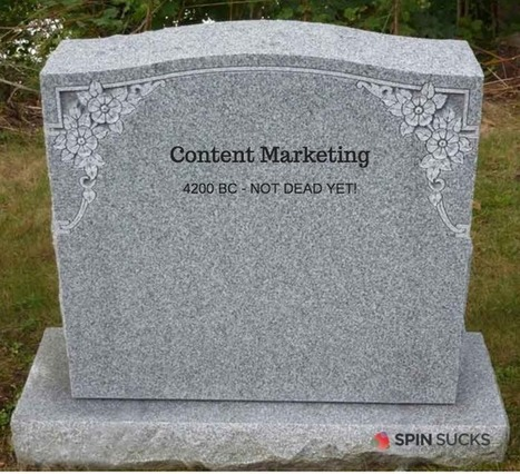 Content Marketing Most Certainly is Not Dead | Surviving Social Chaos | Scoop.it