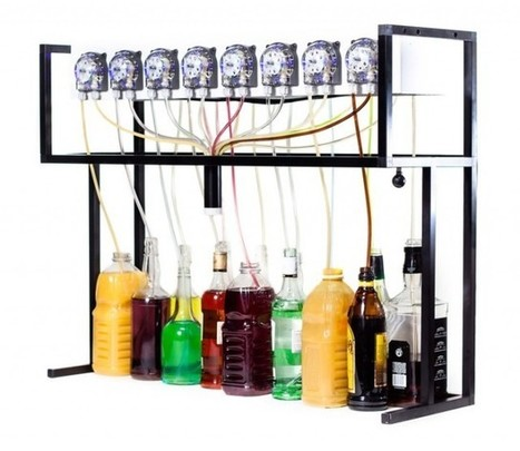 Faveoly Crowdfunding Project of the Day: Bartendro (by @partyrobotics) | Crowdfunding World | Scoop.it