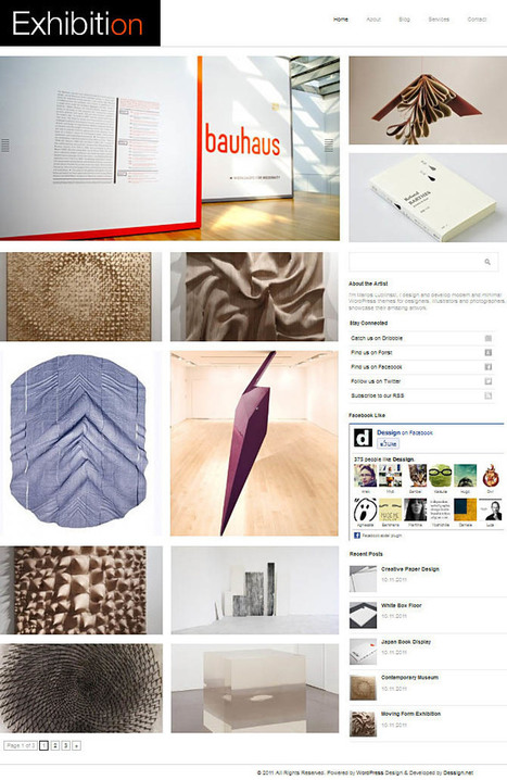 Excellent Minimalist Designs Home Hotel Wordpress Themes | howexplain | Scoop.it