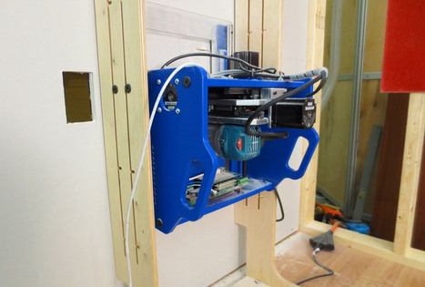 Handibot le smart outil pour la découpe, le perçage, la sculpture... piloté par smatphone « Abavala !!!   FabLab - DIY - 3D printing- Maker   Scoop.it