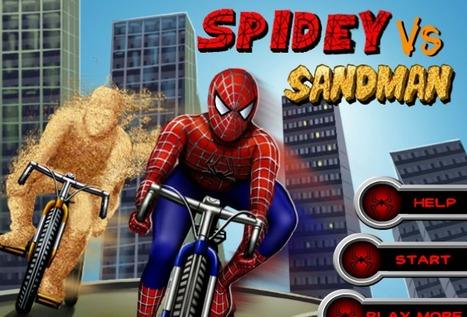 Spidey Vs Sandman - Play Your Best Spiderman Games On toonkaboom.com   Ben 10 Games   Spiderman Games   Scoop.it
