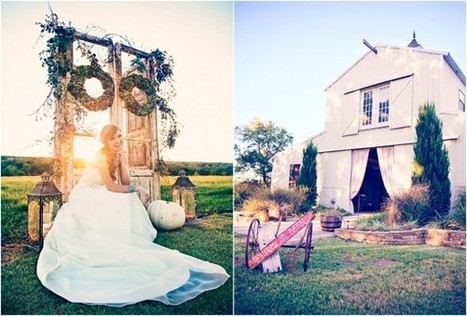 Rustic Chic Farm & Barn Wedding Inspiration - Rustic Wedding Chic | Wedding Inspiration and Planning | Scoop.it