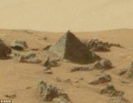 Alien hunters claim they have found a 'PYRAMID' on Mars | Vloasis sci-tech | Scoop.it