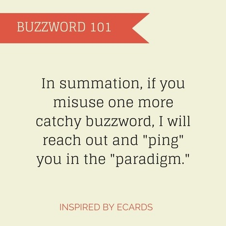 6 Business Buzzwords Translated by CEO Ryan Wilson   Implications of Big Data   Scoop.it