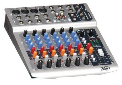 Peavey PV 8 Compact 8 Channel Mixer Studio Mixing Desk | MixingMastering.co.uk | Scoop.it