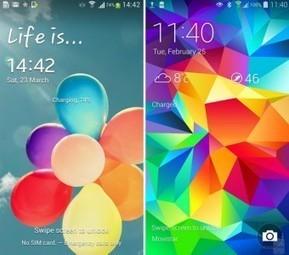 Así luce el nuevo TouchWiz de Samsung en comparación con su anterior versión | Samsung mobile | Scoop.it