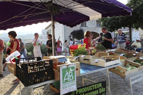 Le bio sur la place du marché | Chuchoteuse d'Alternatives | Scoop.it