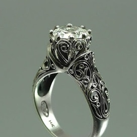 Stunning Vintage Wedding Ring | Vintage-Antique Rings of the World | Scoop.it