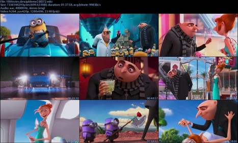 Despicable Me 2 (2013) BluRay 720p 700MB | Free Movie Download,Download Movies For Free,TV Shows | Minecraft Free Download Mods, Skins,Texture packs | Scoop.it
