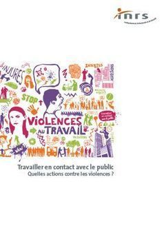 Travailler en contact avec le public - Brochure - INRS | Social Life's moods | Scoop.it