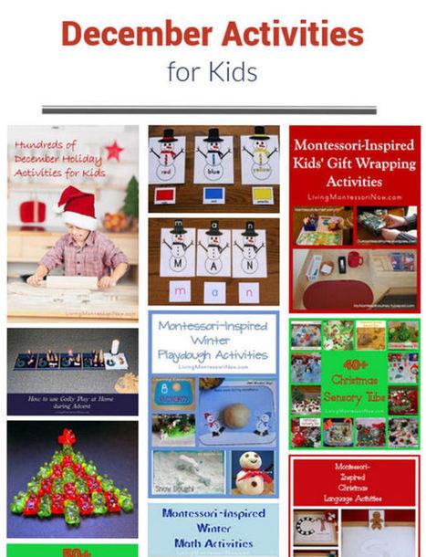 December Themed Activities for Kids | Montessori Inspired | Scoop.it