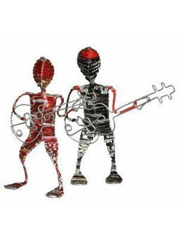 Recycled Aluminium Musicians | Recycled Crafts | Scoop.it
