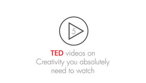 5 TED Videos On Creativity You Absolutely Need To Watch | Advanced Business Creation | Scoop.it