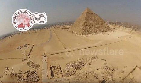 Así se ven las Pirámides de Egipto desde las alturas | Era del conocimiento | Scoop.it
