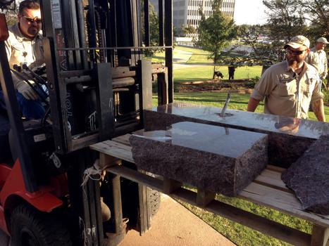 Secret Service Arrests Ten Commandments Statue Smasher   Satanism   Scoop.it