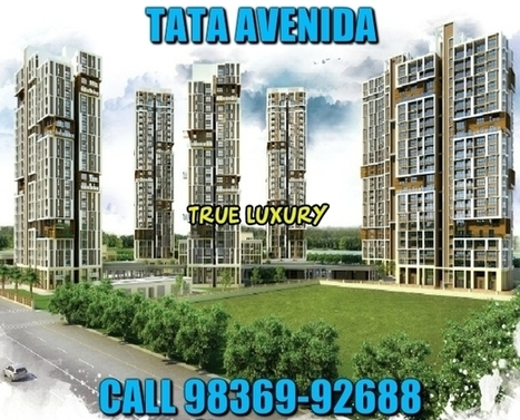 TATA Avenida project brochure | Real Estate | Scoop.it