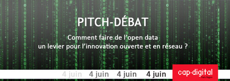 Pitch-débat : Comment faire levier sur l'open data ? | actions de concertation citoyenne | Scoop.it