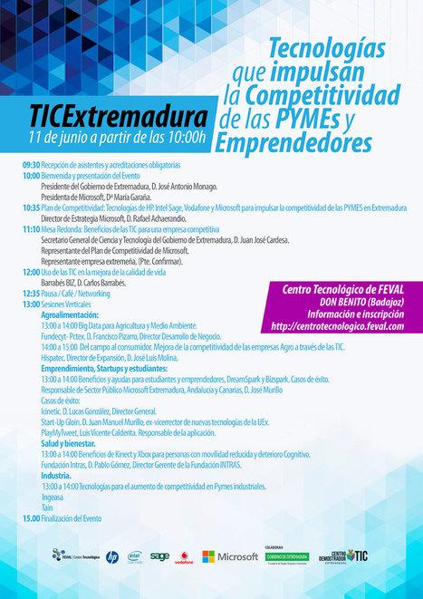 El Centro Tecnológico de FEVAL y Microsoft analizarán en Don Benito la contribución de las TIC al impulso de la competitividad de las pymes | FEVAL Eventos | Scoop.it