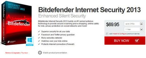 [Promo] Bitdefender Internet Sercurity 2013 60 days license key | Free license for you | Bitdefender 2013 | Scoop.it