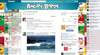 Theme for Facebook - Angry Birds | Themes for Facebook | Scoop.it