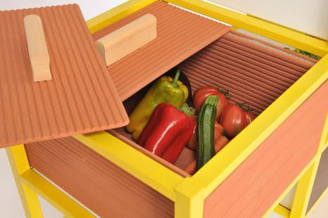 Food Pyramid Storage & Other Furniture by FridayProject - Design Milk | Du mobilier, ou le cahier des tendances détonantes | Scoop.it