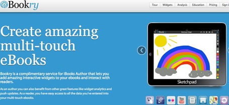 Bookry – Welcome | Interactive widgets, reader analytics & templates that work with iBooks Author | iPad & Literacy | Scoop.it
