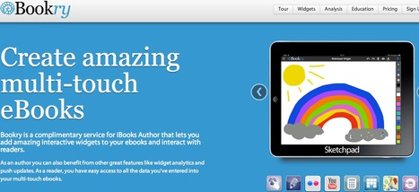 Bookry – Welcome | Interactive widgets, reader analytics & templates that work with iBooks Author | PKM | Scoop.it
