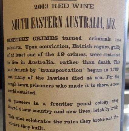 Aussie Creative Marketing That's Not A Crime | Autour du vin | Scoop.it