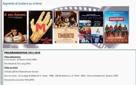 Apprentis et lycéens au cinéma | Vie culturelle du lycée Angellier Dunkerque | Scoop.it