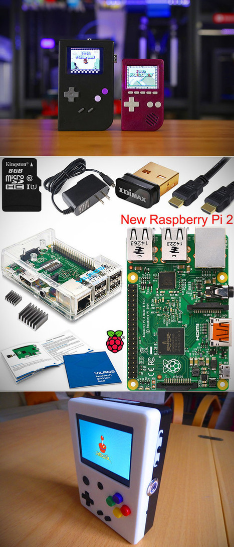 Build Your Own Mini PC or Game Console with Raspberry Pi 2 Model B Complete Starter Kit, Get One for Under $59 - Today Only - TechEBlog | Raspberry Pi | Scoop.it