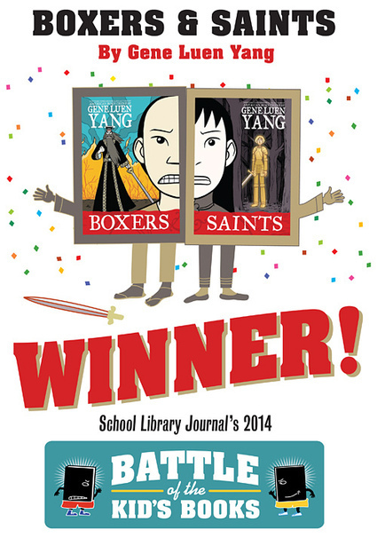 The Big Kahuna Match: Between Boxers & Saints, P.S. Be Eleven, and Eleanor & Park — @SLJsBoB SLJ's Battle of the Books | Young Adult Novels | Scoop.it