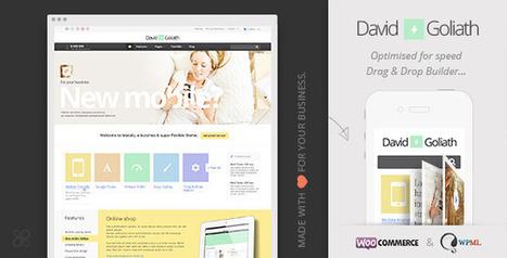 David & Goliath - Business and Portfolio Theme (Business) Download   Wordpress Themes   Scoop.it