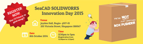 SeaCAD Technologies Innovation Day 2015 | SolidWorks Product Launch 2015 | 3-D Product Design & SolidWorks vendor in Singapore | Scoop.it