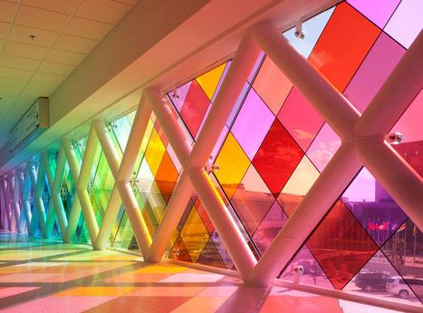 Miami Airport installation: Harmonic Convergence by Christopher Janney | DESARTSONNANTS - CRÉATION SONORE ET ENVIRONNEMENT - ENVIRONMENTAL SOUND ART - PAYSAGES ET ECOLOGIE SONORE | Scoop.it