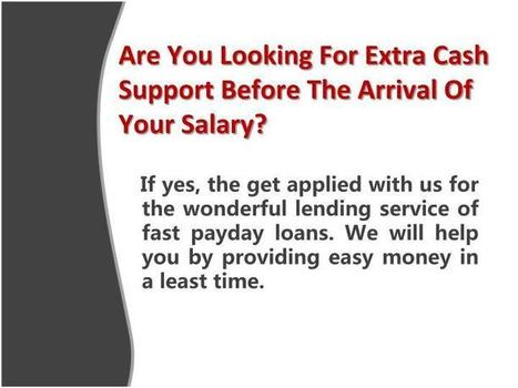 Fast Payday Loans- Smart Borrowing Option For The Fixed Earner | Fast Loans | Scoop.it