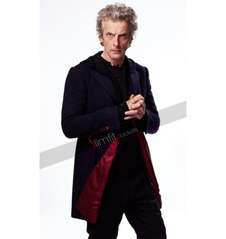 Peter Capaldi Doctor Who S9 Black Coat | Famous TV Series Leather Jackets | Scoop.it