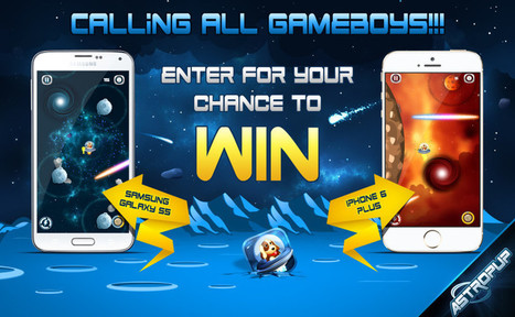 Calling all Gameboys! Win an iPhone 6 Plus and Samsung Galaxy S5 | Islamic Wallpapers and Android Games | Scoop.it