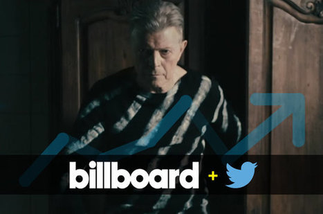 David Bowie's Death Sparks Top Two Takeover on Billboard + Twitter Trending 140 | Billboard | New Music Industry | Scoop.it