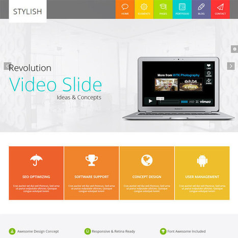 STYLISH WordPress Theme | WordPress Theme Download | Best WordPress Themes 2013 | Scoop.it