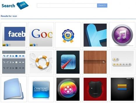 SearchPSD – Moteur de recherche de fichiers PSD | Cabinet de curiosités numériques | Scoop.it