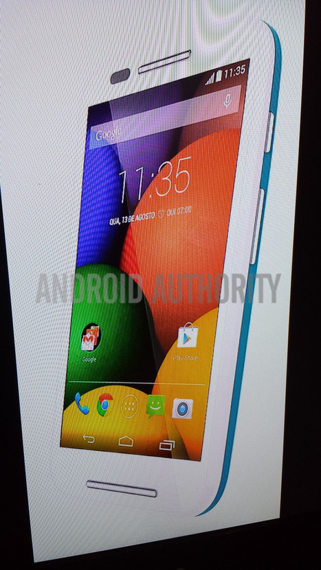 Exclusive: Leaked photos of the Moto E - Android Authority | Android Discussions | Scoop.it