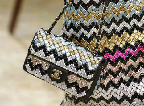 Chanel Went With Straight-Up Pretty Bags for its Fall 2015 Runway | FBESHOP | Scoop.it